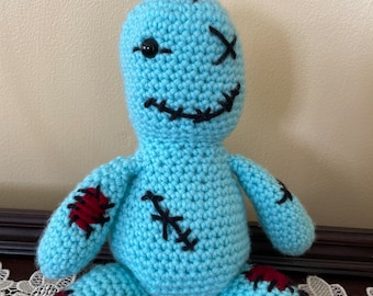 Made to Order - Stitches the Zombie - Mommy's Little Ghoul - Custom Plush All Colors - Halloween Plushie Spooky Cute Goth Decor
