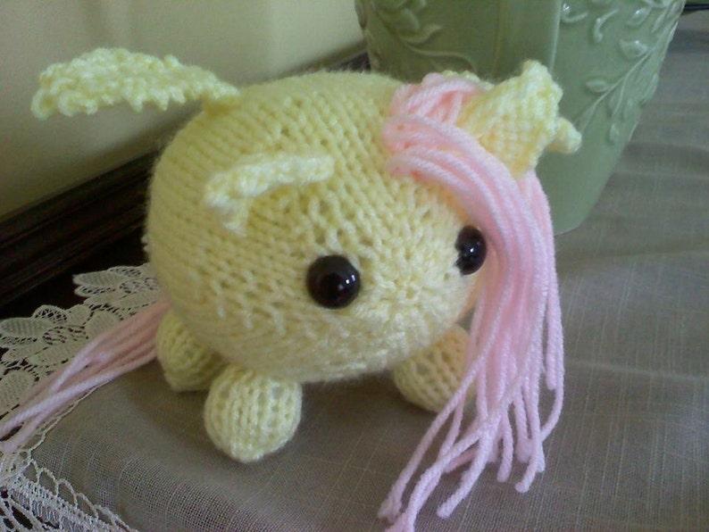 Made to Order Chibi My Little Pony Plush  Desk Buddies image 1