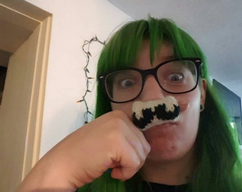Made to Order - I mustache you a question - Finger Sock Costume Disguise