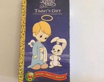 Timmys gift precious moments christmas 1991 usa