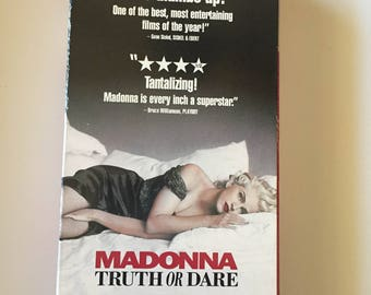 Madonna - Truth or Dare (VHS, 1991)