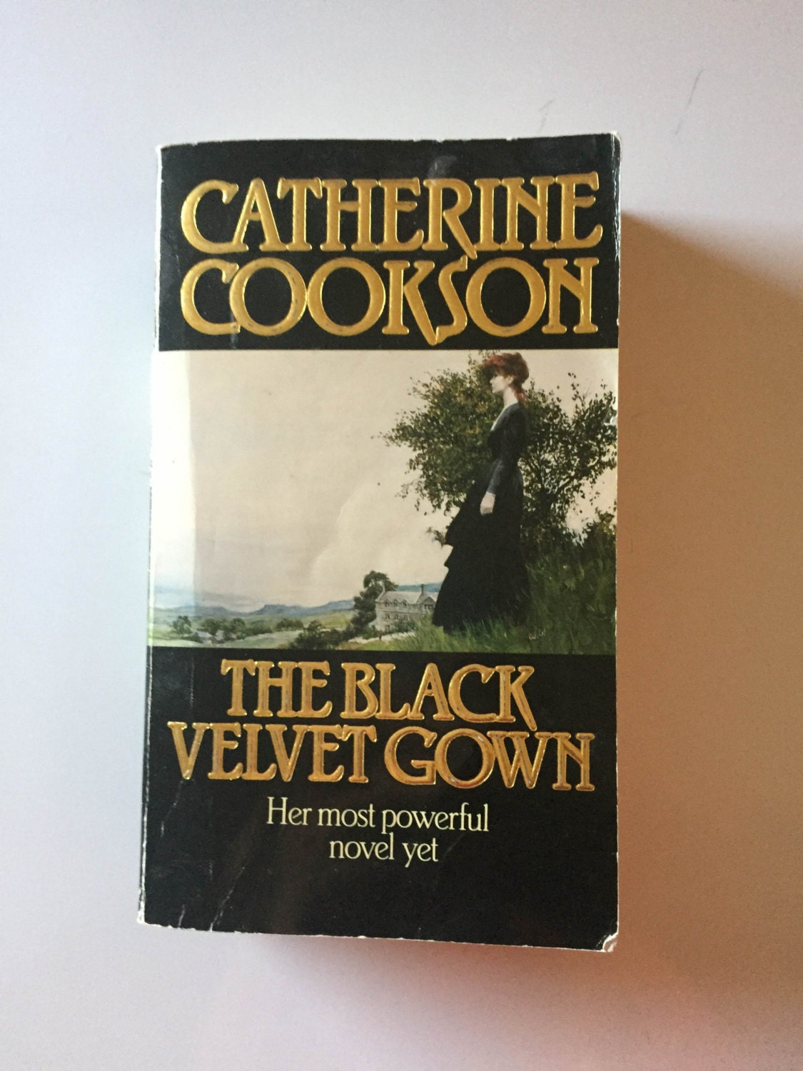 The Black Velvet Gown by Catherine Cookson 1985 Paperback | Etsy