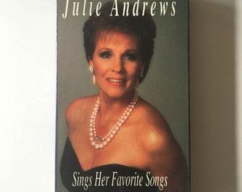 Julie Andrews Sings Her Favorite Songs (VHS, 1992)