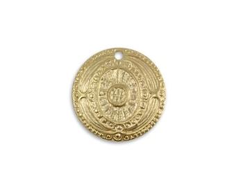 Vintaj Vogue 16mm Ancient Coin