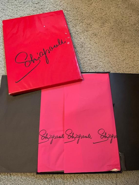 Vintage Schiaparelli Nylon Stockings Thigh Highs O