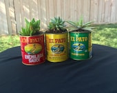 Medium El Pato Spanish Sauce Cans Wedding Party Center Piece Decor