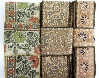 Vintage Sari borders, Sari Trim SR408