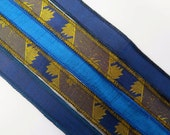 Silk Bracelet Ribbon Mix, W482