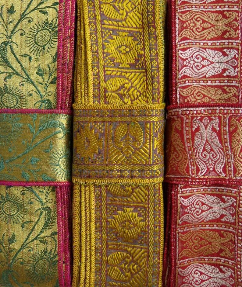 Trim SR402 Vintage Sari borders