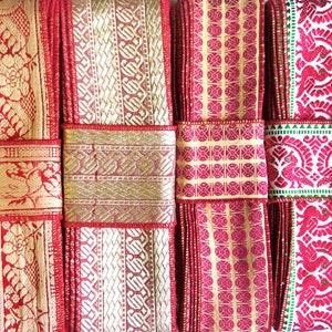 Silk Trim vintage fabrics SR100