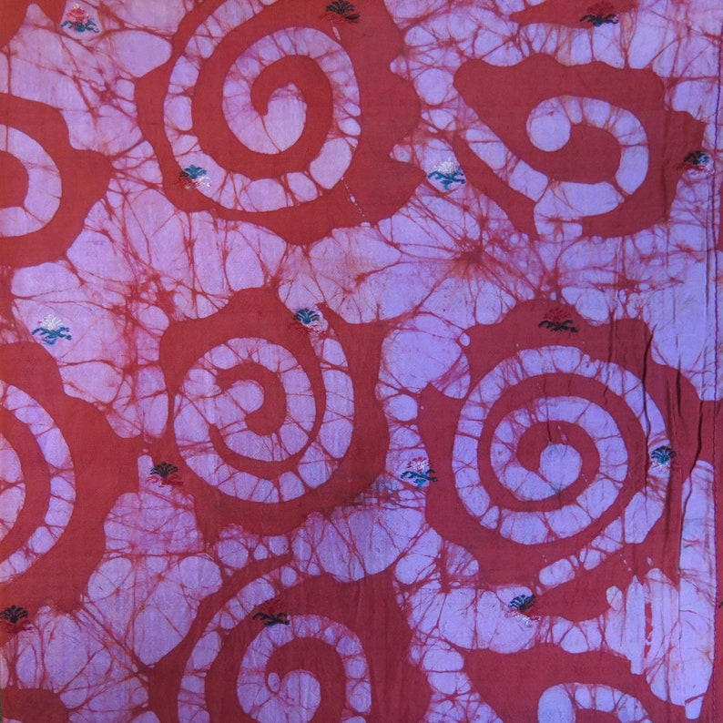 F65 Silk Fat Quarters Vintage Fabric Silk Fabric