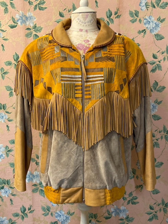 1980's Char Leather Bomber Jacket