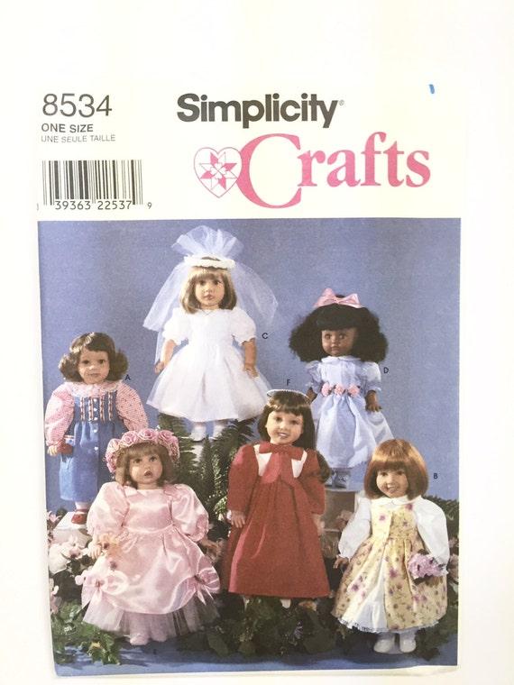 Patrones de costura simplicidad Vintage Delantales Craft Nuevo Patrón añadido
