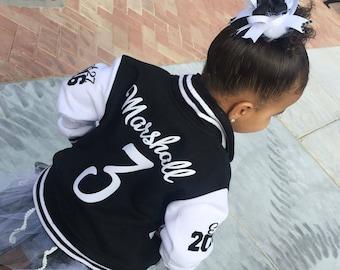 3c1cb8ac558 Kids Varsity Jacket - Custom Varsity Personalized Kids Spring Jacket - Letterman  Jacket - Monogrammed Team Varsity Jacket - DaBaby Canada