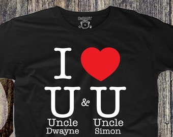 Custom Two Uncles T Shirt Girl S Tops Boy S Tops Etsy