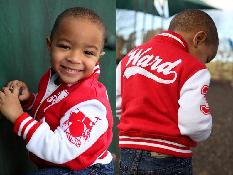6c6ff5e2c0c Personalized Baby Gift Infant Varsity Jacket Keepsake Baby | Etsy
