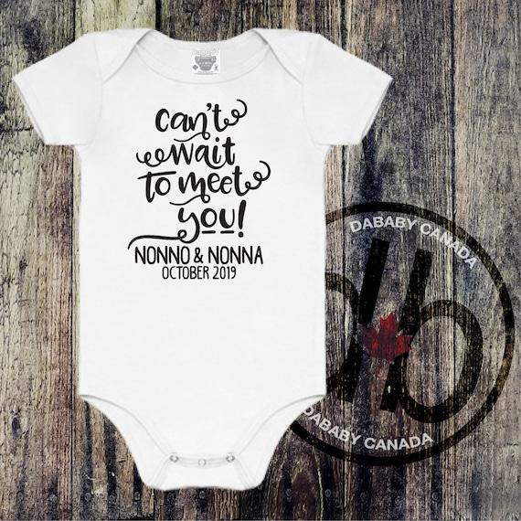 Nonno gift for aunt gift baby shower newborn gift nonno gift baby gift christmas gift baby bodysuit gift for baby newborn baby