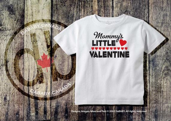 Mommy S Little Valentine Bodysuit Baby Girls Etsy
