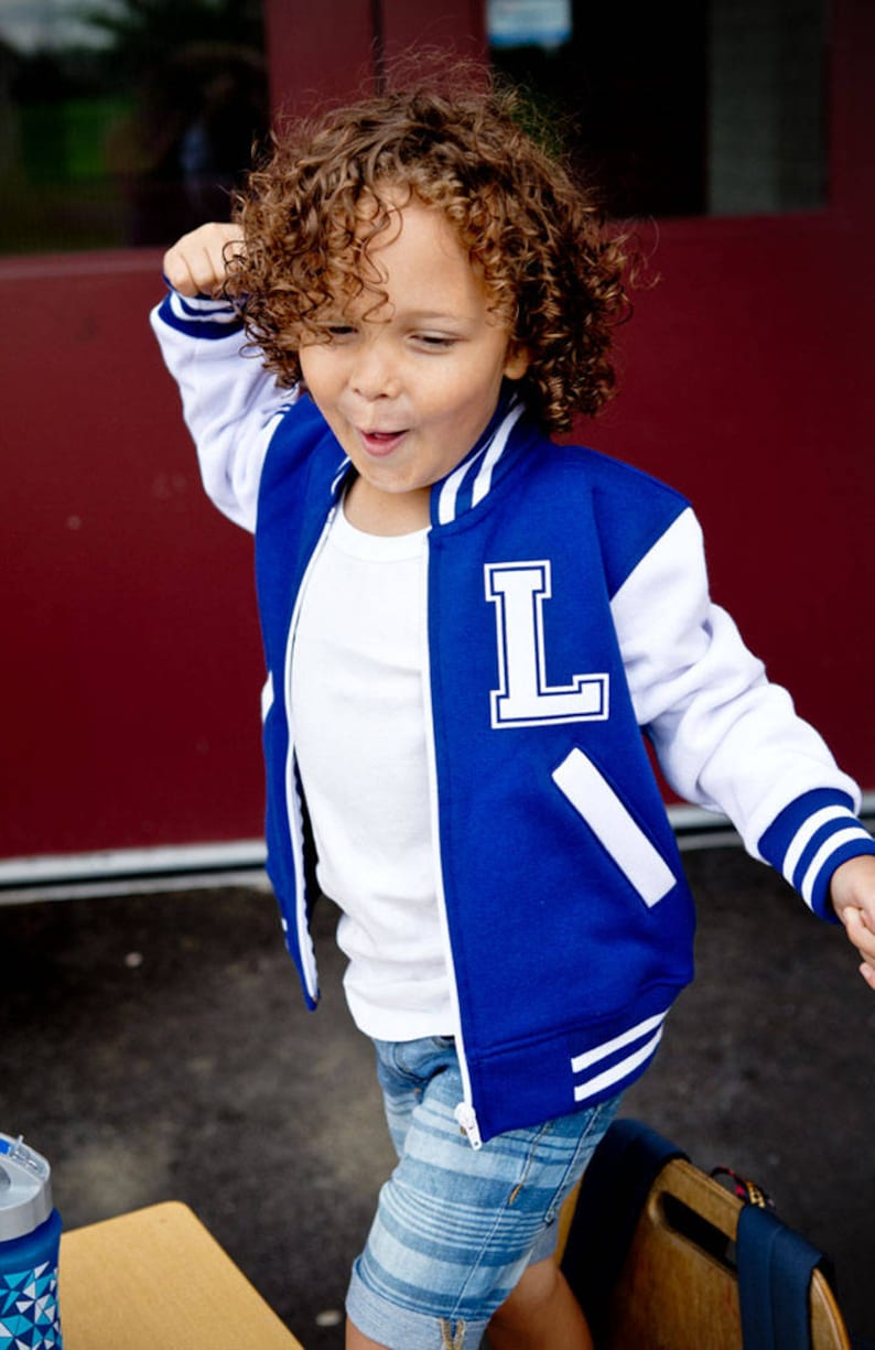 0a12e9767b74 Personalized Varsity Jacket Boys or Girls Back To School