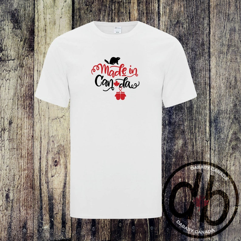 Made In Canada Bodysuit Mens and Ladies Made in Canada Shirts Canada Day Tee Family Canada Day Shirts Toddler Canada Day T-shirt