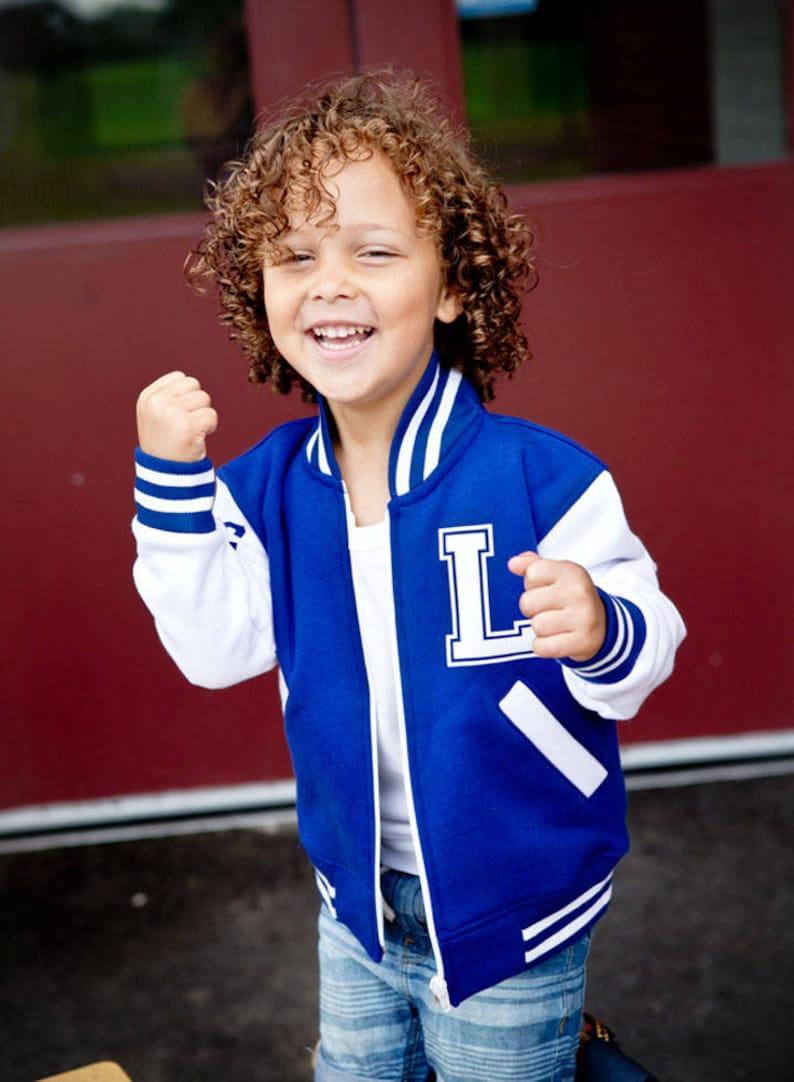 d38cfcfba8d Toddler Varsity Jacket Personalized Kids Jacket Best | Etsy