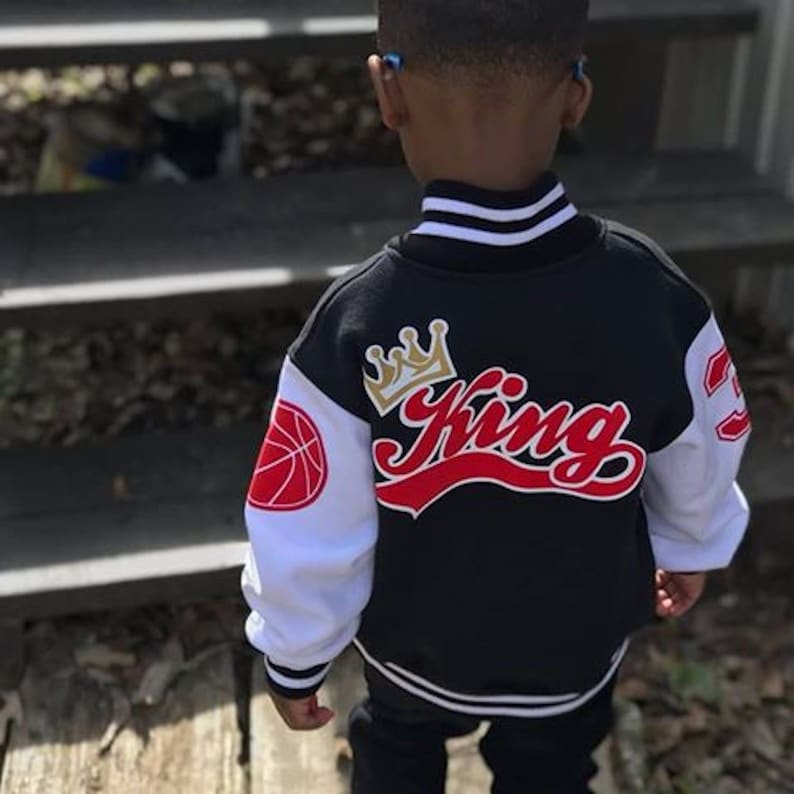 536e58795f7d Personalized Kids Varsity Jacket Made In Canada Toddler