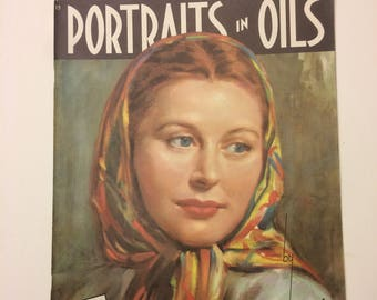 Portraits in Oils by Stella Mackie, Published by Walter T. Foster, How To Art Magazine, Paint with Oils Instruction, Stella Mackie Art