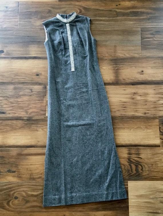 Nelly de Grab Vintage Maxi Dress, 100% Virgin Wool