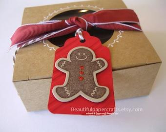 6- Gingerbread Tags || Christmas Gift tags || Christmas favor tags || Christmas gift tags || Gingerbread favor tags || Favor Tags