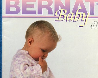 Bernat Baby Knitted Clothes Booklet 1200