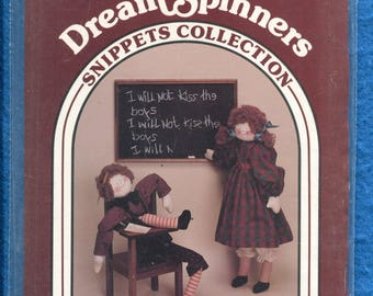 Dream Spinners 503 Rag Dolls Boy and Girl with Their Prairie Chic Outfis Size 27 inch Doll UNCUT