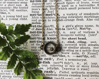 Mustard seed necklace, faith necklace