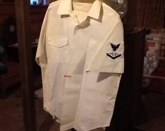 28338b31f116 US Navy white Uniform 1960