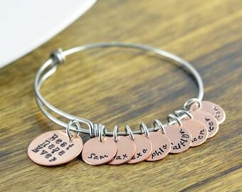 Personalized Grandma Bracelet, Nana Bracelet, Mimi Bracelet, Grandma Bracelet Family Bracelet, Personalized Bracelet, Mommy Bracelet