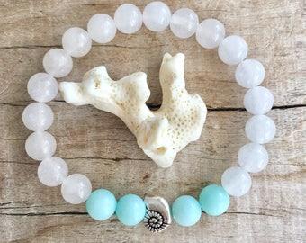 beach jewellery, mermaid bracelet