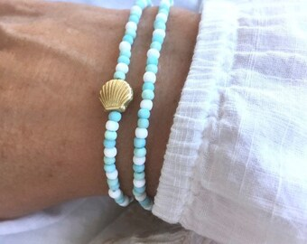 beach bracelet, mermaid jewellery, sea inspired
