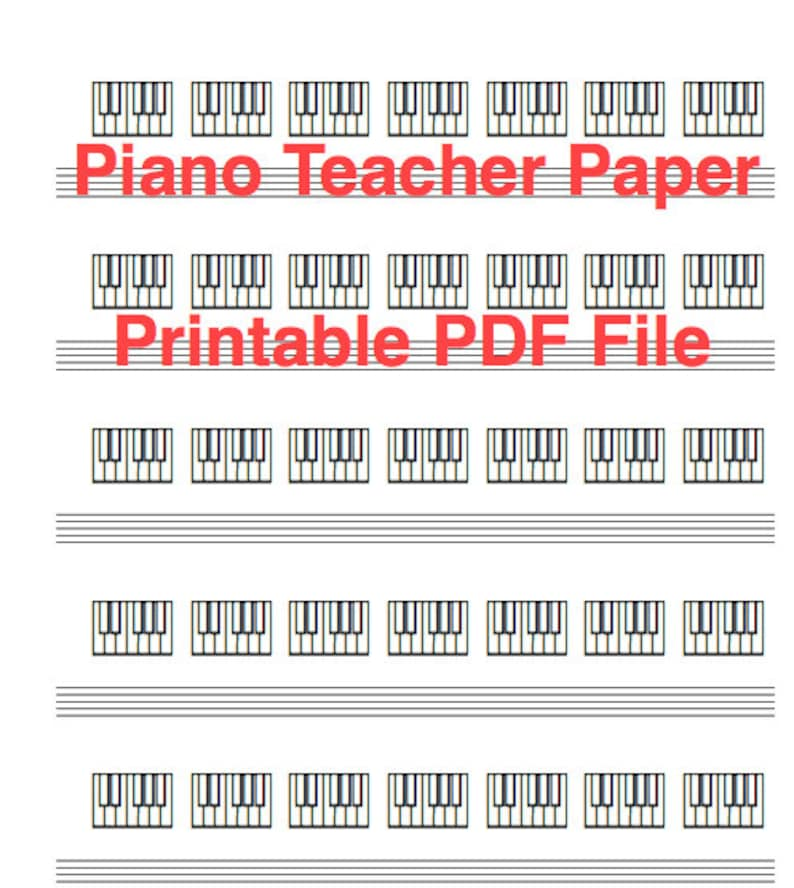 graphic relating to Piano Keyboard Printable identified as Piano Instructor Keyboard Diagram Paper: Down load and Printable PDF - Superb for mastering and training saxophone