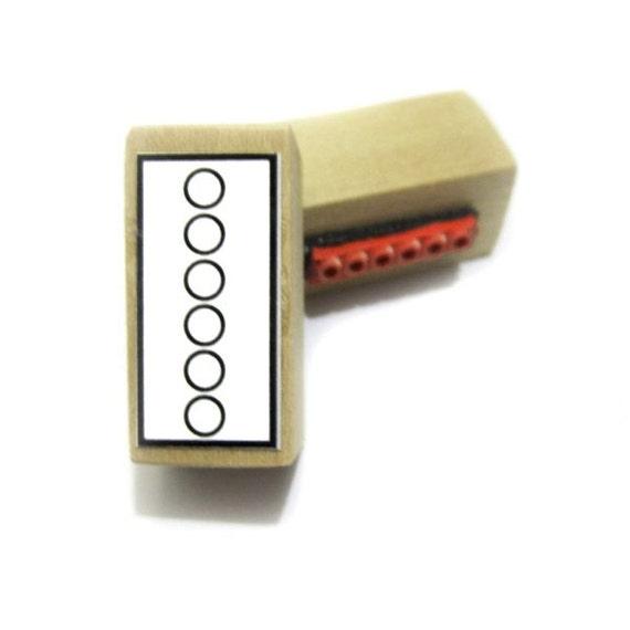 Sello de goma grande para los digitaci/ón de Piano.