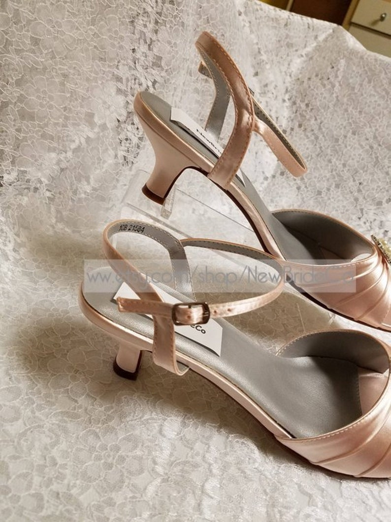 Spring Wedding shoes,Blush Low Heel Shoes US Size 9.5 /& 10 ready to ship,Blush low Heels,Victorian Shoes BLUSH PINK 1 34/'/' heel size 10