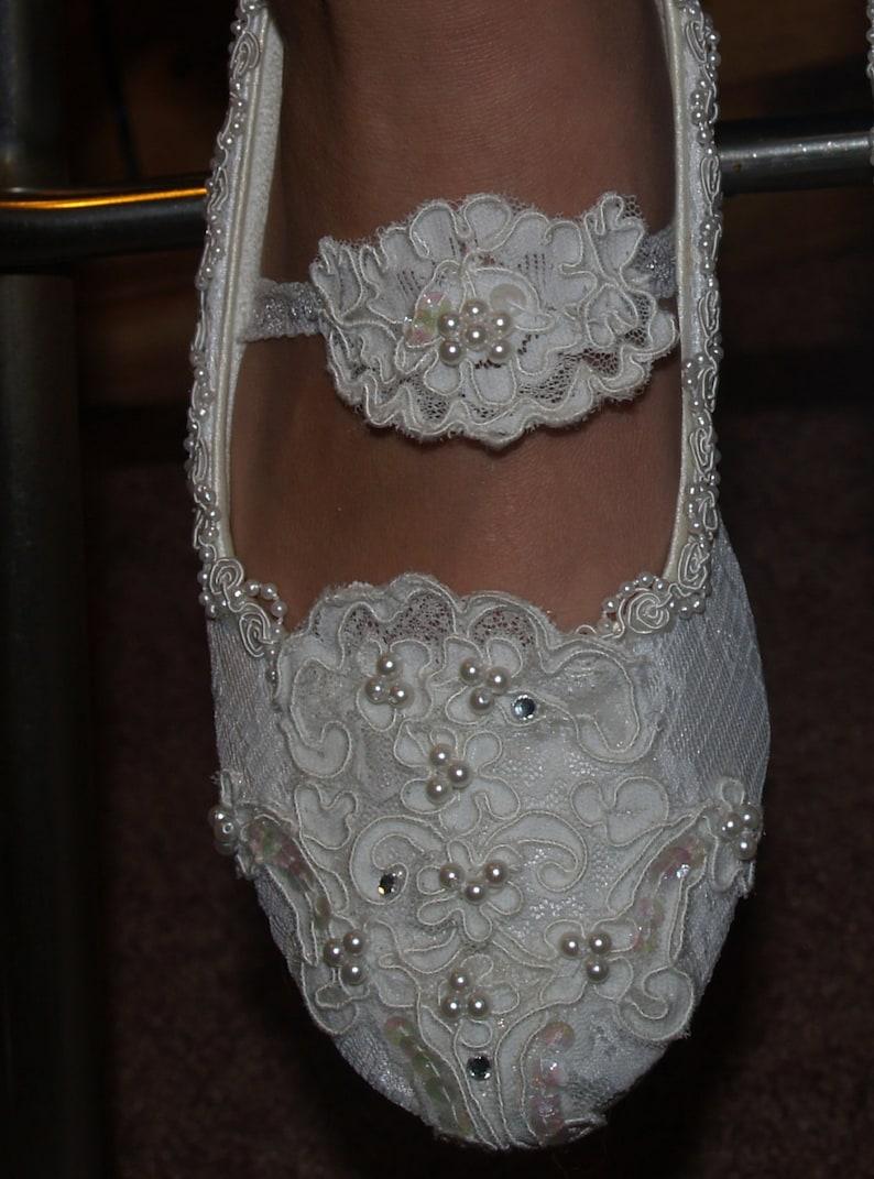 Zapatos Sin EncajeEtsy Novias Tacon Estilo Maria Con Antoinette mn80vNOw