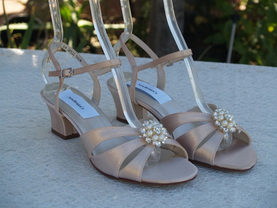Champagne WEDDING Shoes M and W width