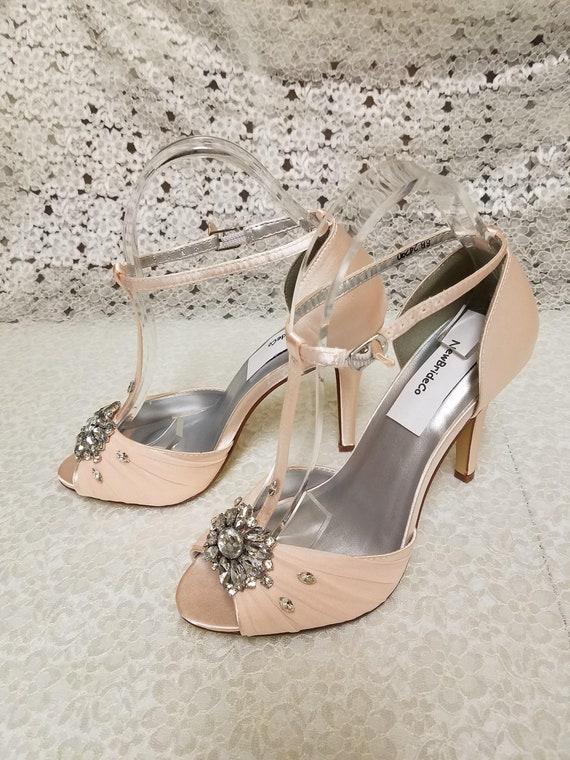 Blush Wedding Shoes High heels Modern