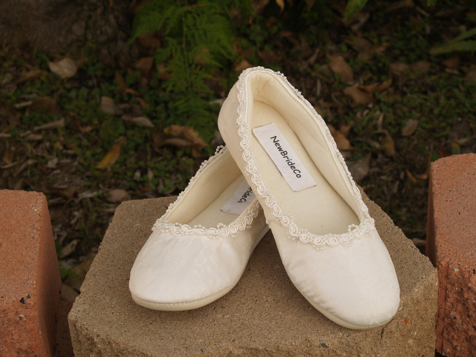 ivory vegan bridal flats comfortable shoes w pearls flower appliqué,wedding flats ivory rose,ballet style slipper,comfortable re