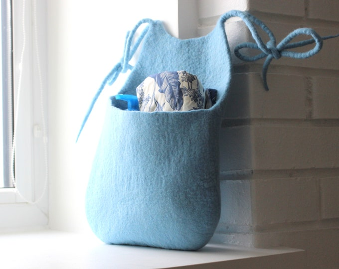 Felt BASKETS, PILLOWS