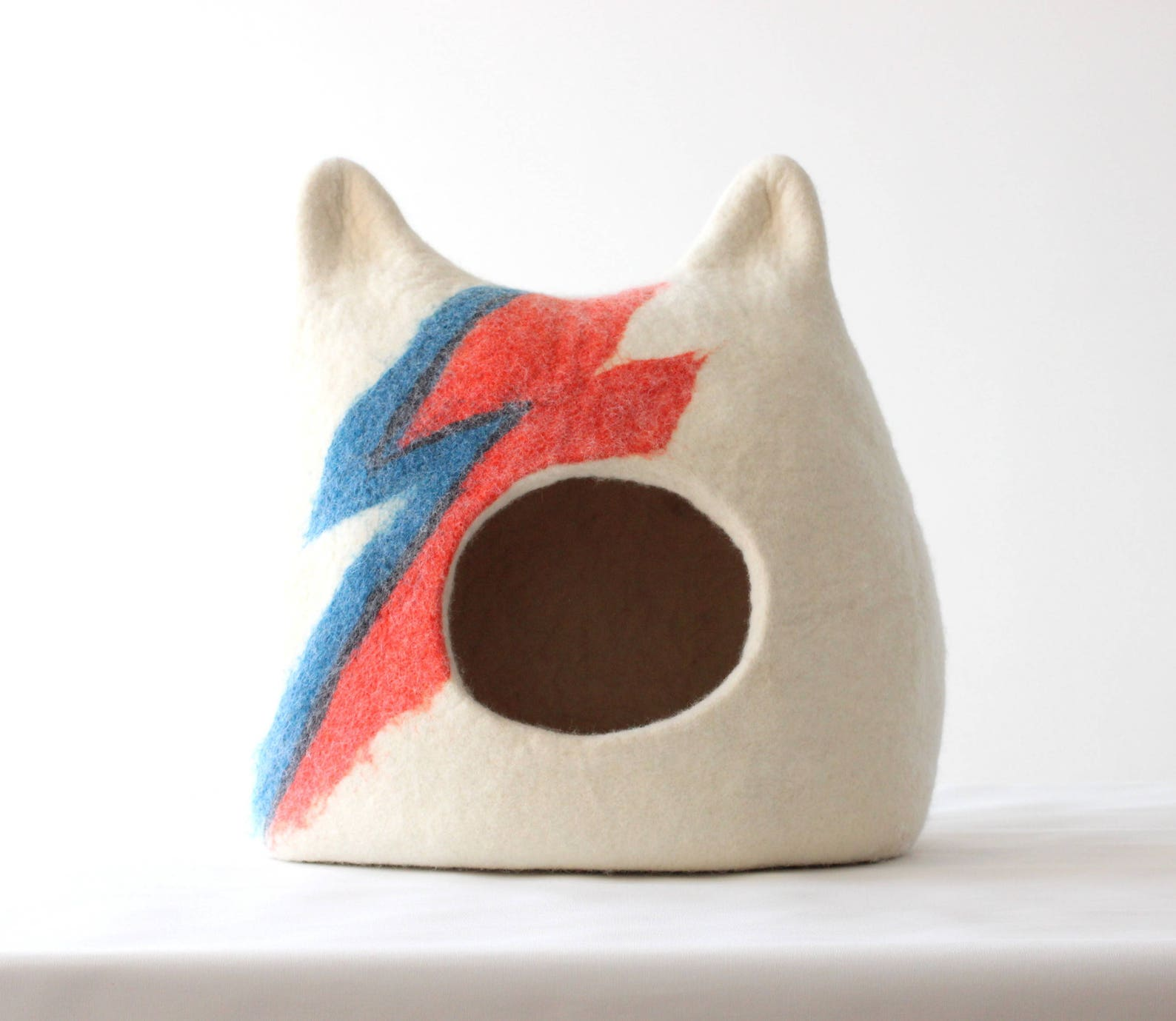 hand-felted pet bed furniture