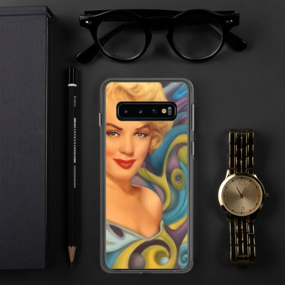 Marilyn Monroe Surreal POP art Samsung Case