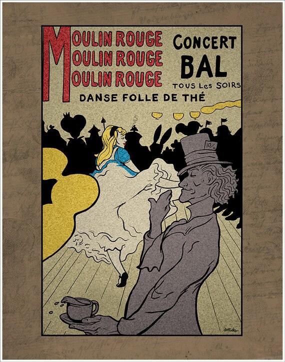 Moulin Rouge Tea Party