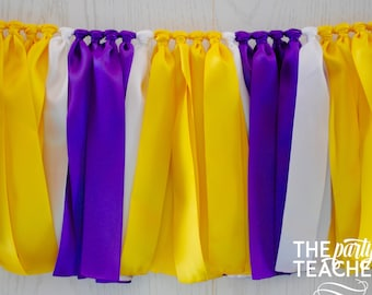 Purple Yellow Decor Etsy