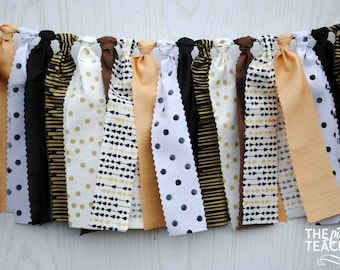 Wild Thing Fabric Bunting - FREE Shipping - Wild Thing Fabric Garland - Wild Thing Bunting - Wild Thing Garland - Wild Thing Party
