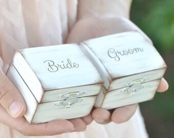 Ring bearer pillow/boxes
